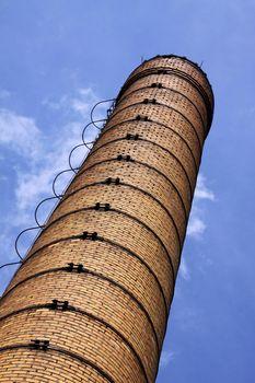 The brick chimney