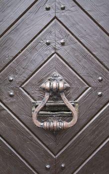 Steel medieval knocker