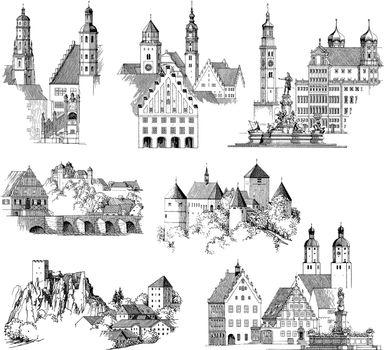 Medieval Urban Scenics