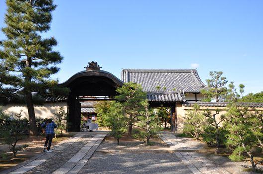 Daitokuji (Daitoku-ji) Temple. Buddhist zen temple of Rinzai sch
