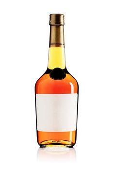 wine brandy bottle