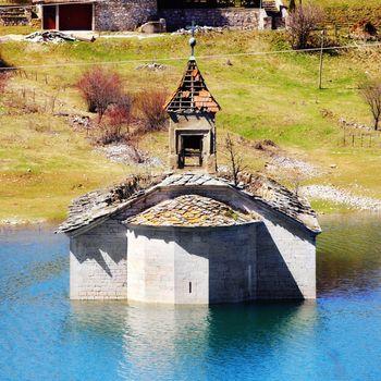 underwater church