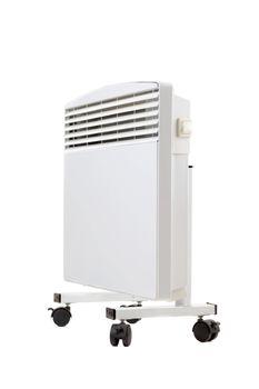 modern radiator on wheels