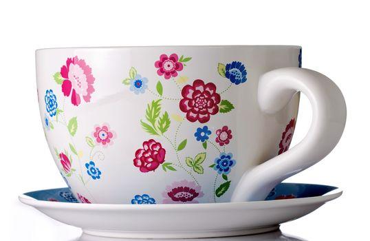 huge coffee or tea cup