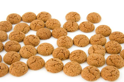 pepernoten (ginger nuts) sweets for typical Dutch festivity at 5 december