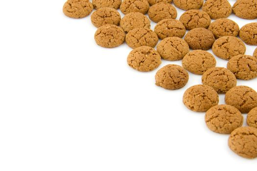 pepernoten (ginger nuts) sweets for typical Dutch festivity at 5 december. With room for text