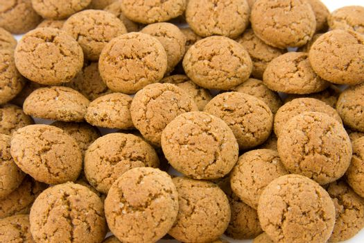 pepernoten (ginger nuts) sweets for typical Dutch festivity at 5 december. Can be used as background