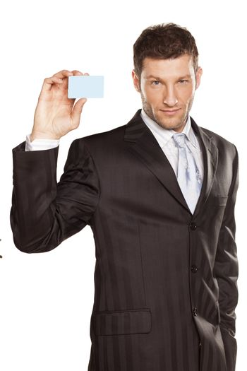Businessman And Credit Card