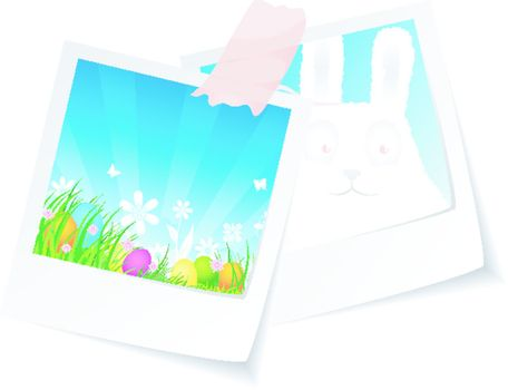 Vector illustration of Easter photo