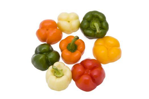Paprika pieces