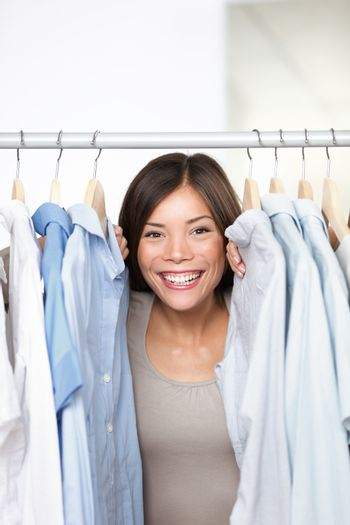 Small business clothing shop owner
