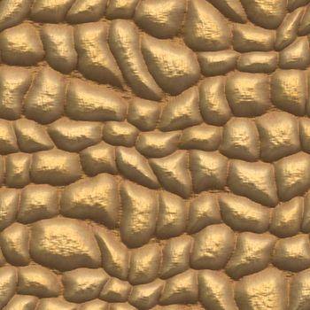 Gold pavement