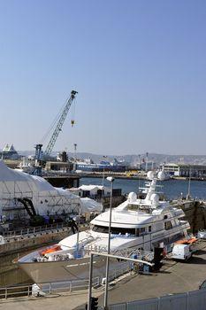 shipyard of Marseille