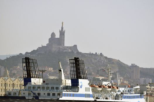 on the port of Marseille