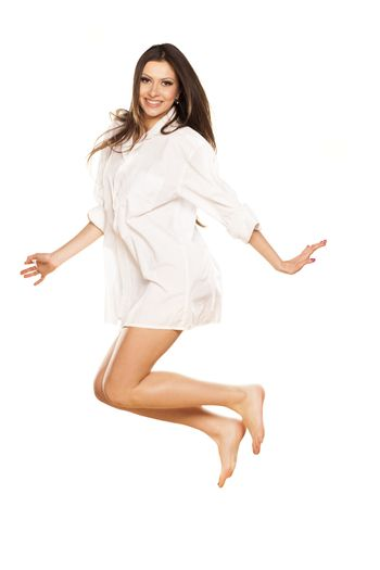 jump ande smile