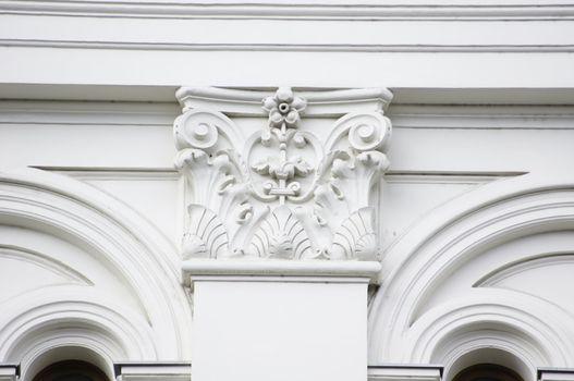 historical building of Tbilisi National University, Georgia