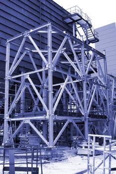 Metal sceleton construction