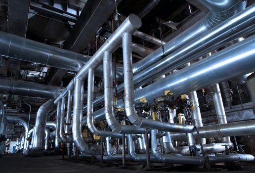 Industrial zone, Steel pipelines