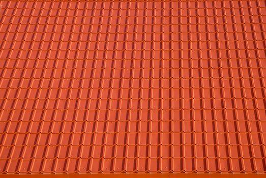 orange roof tile