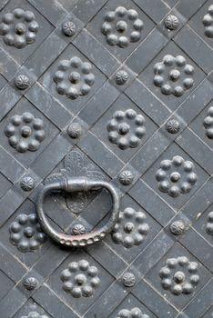 steel door handle