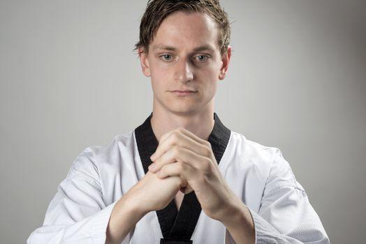 Taekwon-Do champion is preparing
