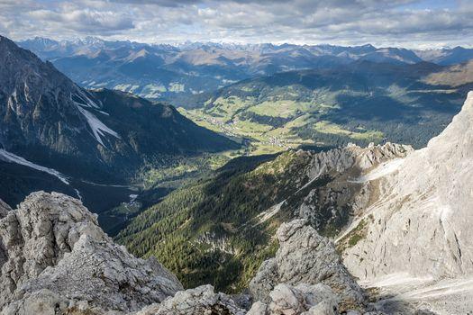 Wild landscape South Tyrol
