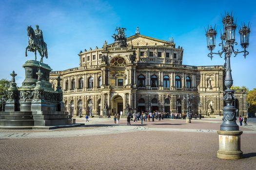 Opera house Dresden