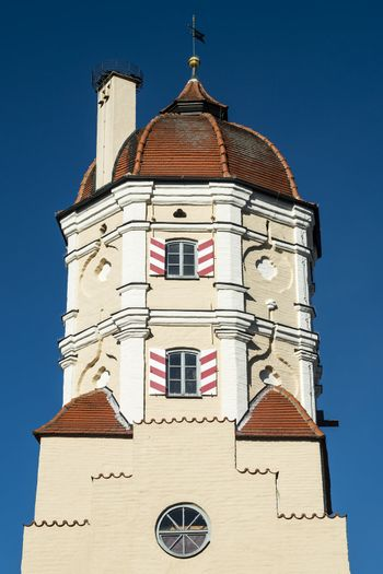 Tower of a city gate in a Bavarian town