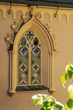 Windows of a Gothic church