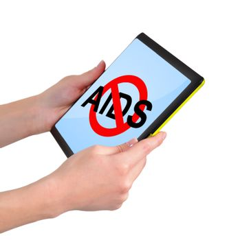 touchpad with no aids symbol