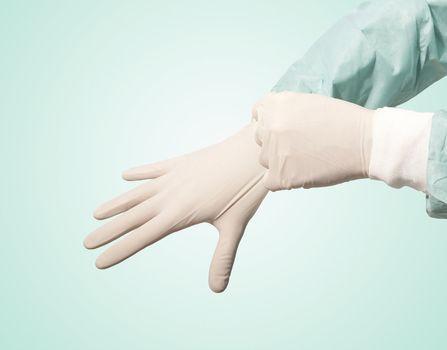 surgeon glove