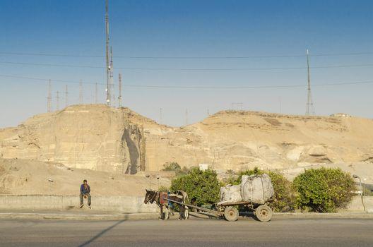 cairo street in egypt
