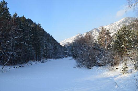 Altay winter story