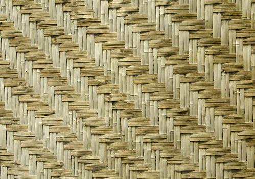 Natural woven reeds textured
