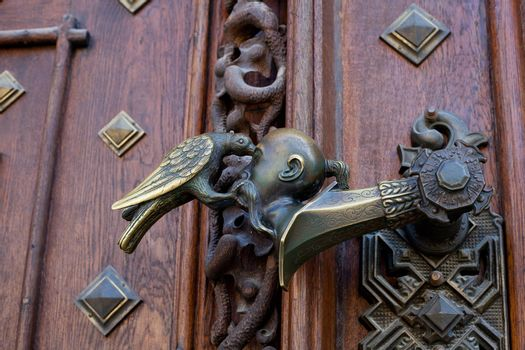 forged door knob
