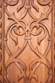 decor of the door