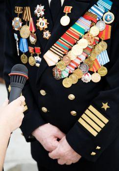 Veteran of Great Patriotic war