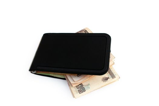Wallet with Mexican Currency