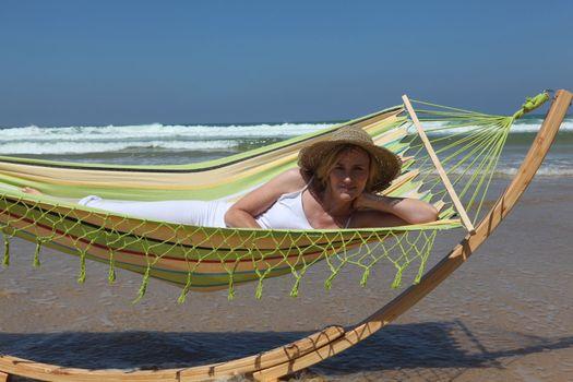 nap on the beach