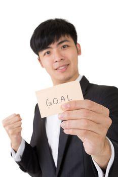 goal word card