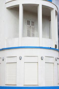 Neoclassical balcony