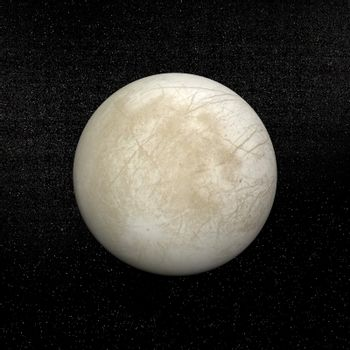 Europa planet - 3D render