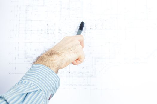 drawing and the human hand