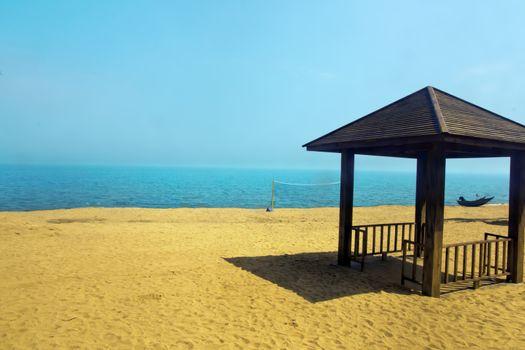 Tropical seaside scenery - taken in Hainan Island, China