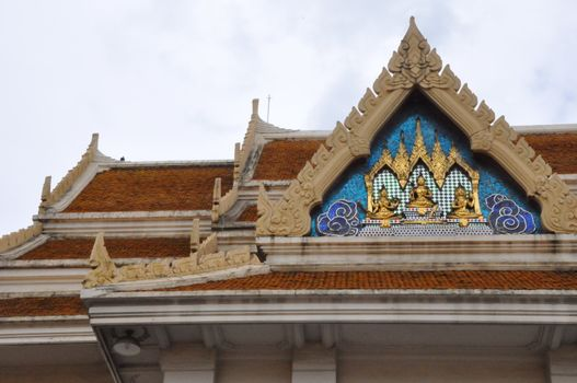 Wat Saket in Bangkok, Thailand