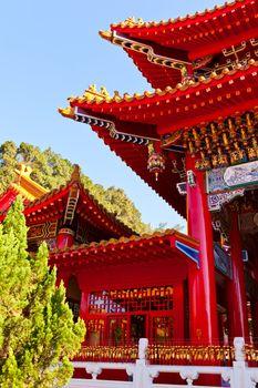 Wenwu Temple detail