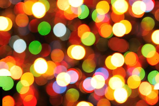 christmas texture from the color xmas lights as nice holiday background