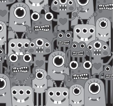 gray monsters
