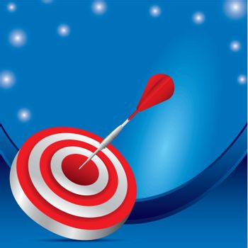 red dartboard