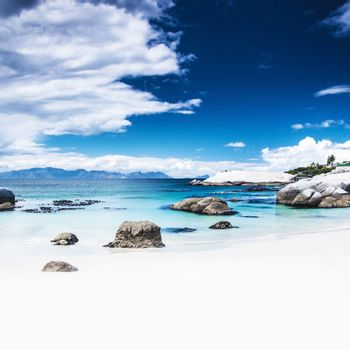Paradise beach background